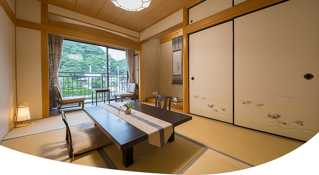 Mountain side Japanese-style room